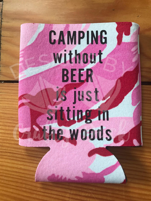 Camping without Beer Can Cooler
