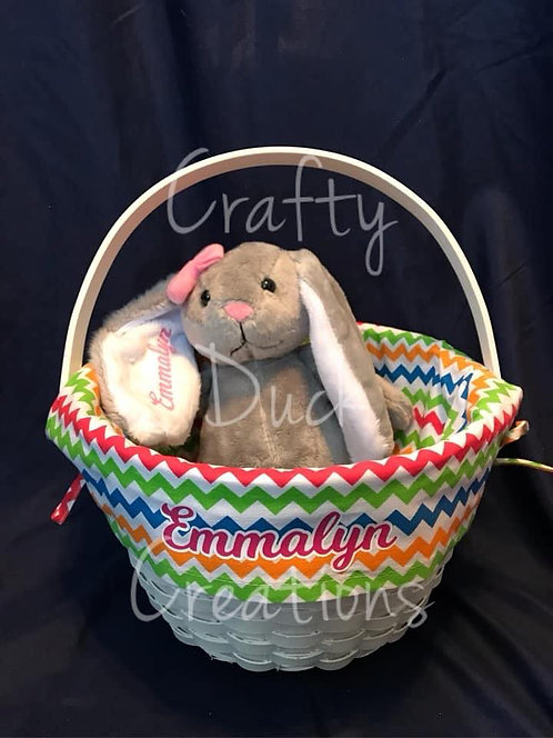 Easter Bundle - Personalized Bunny and Basket