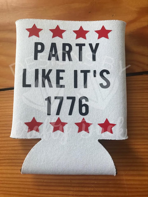 Party Like It's 1776 Can Cooler