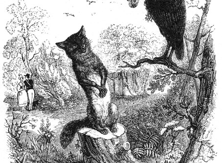Was der Rabe & der Fuchs mit dem Shomer zu tun haben
