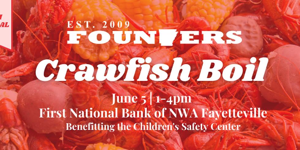 Founders crawfish boil