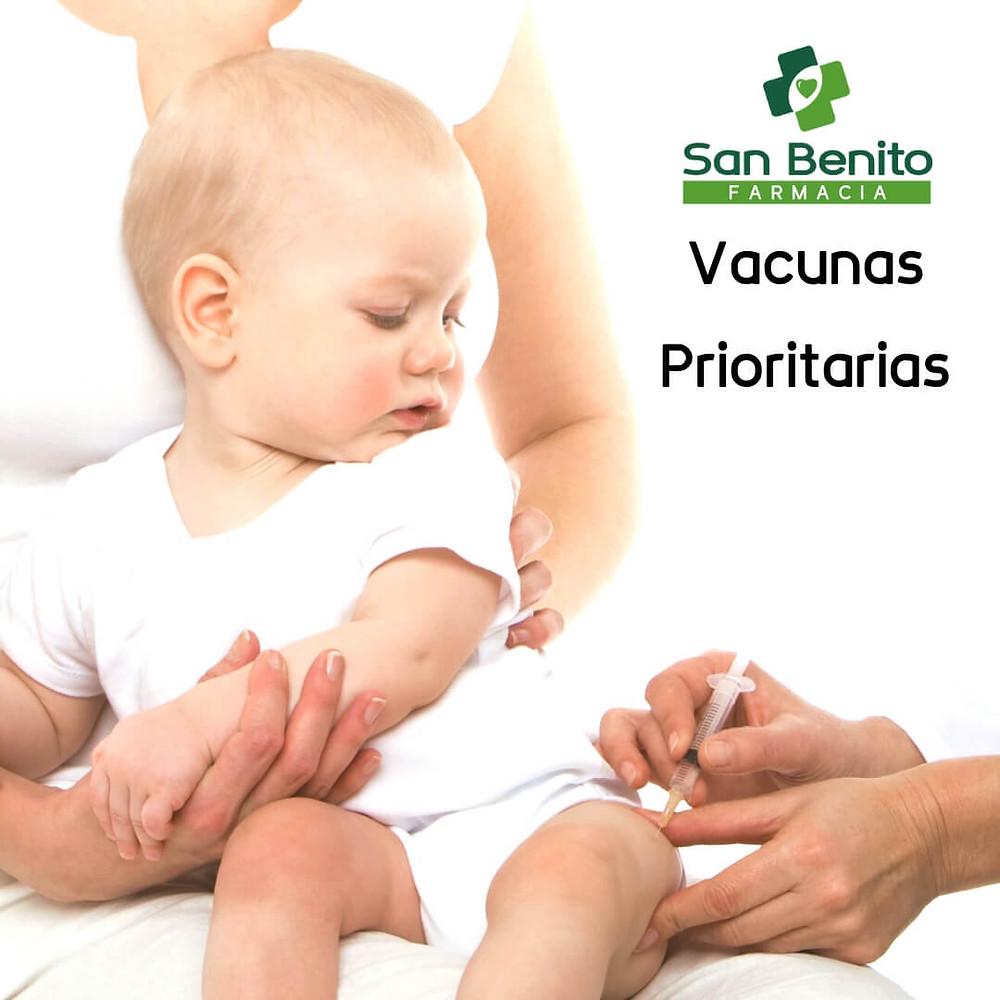 vacunas prioritarias durante el confinamiento