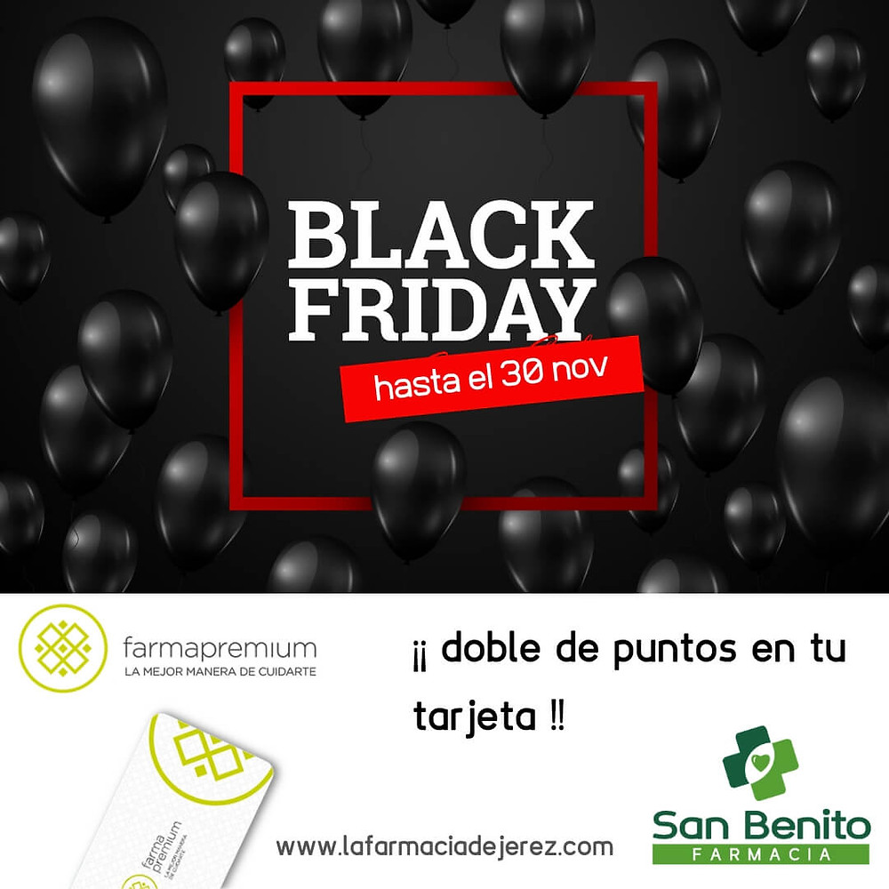 Black Friday Farmapremium Jerez