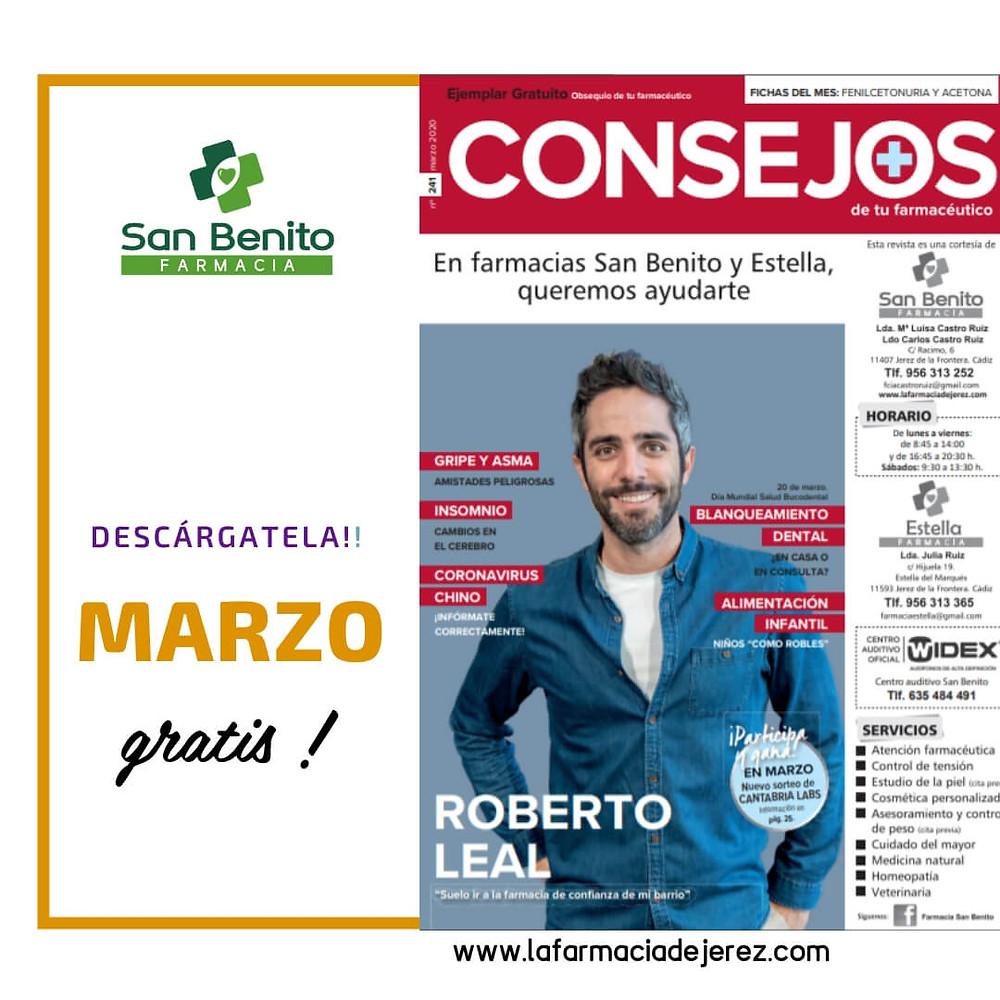 Revista Consejos Farmacia San Benito Jerez