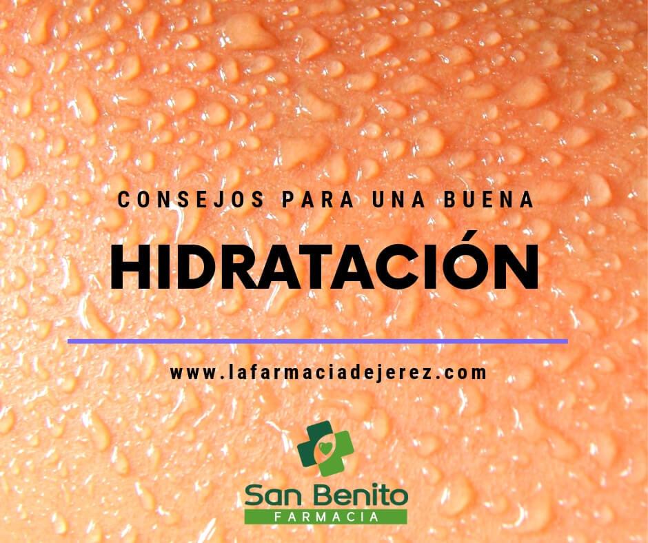 consejos para una buena hidratación
