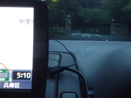 神戸ゴルフアカデミーの朝