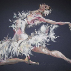 Swan Lake by Belinda Baynes