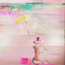 'Pink Lemonade Days' Australian art by Belinda Baynes