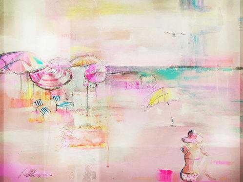 'Pink Lemonade Days' signed A3 print