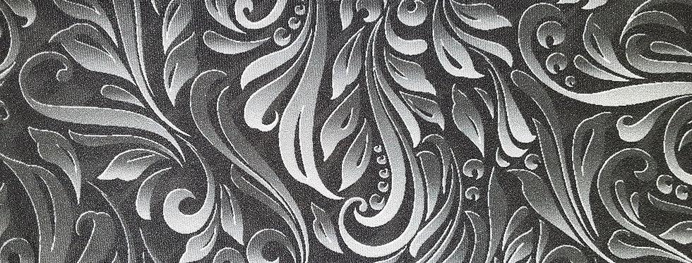 Black/Grey Paisley Jock Strap