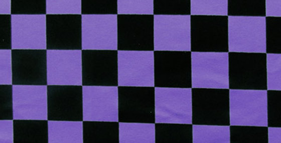 Purple Check Jock Strap