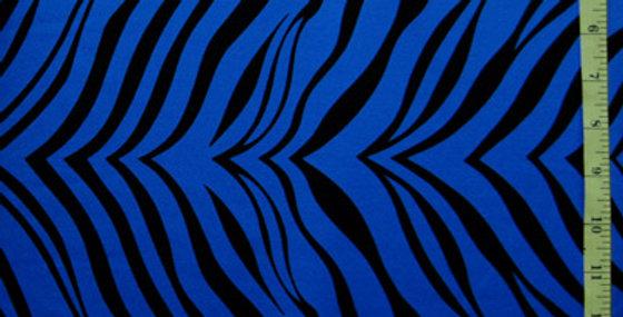 Blue Zebra Jock Strap