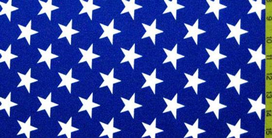 Blue/White Stars Jock Strap