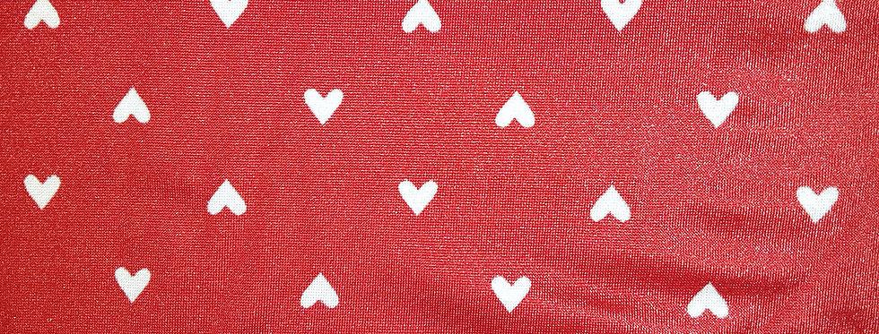 Red/White Mini Heart Basic Jokini