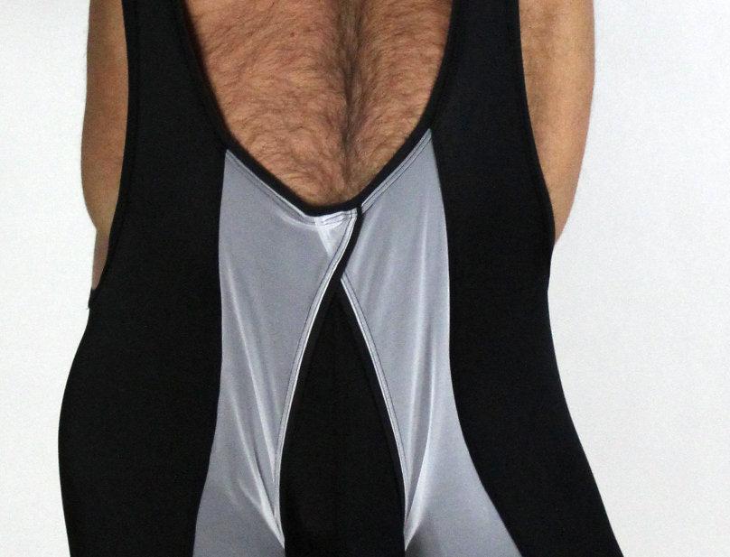 Peek-a-Crotch Singlet
