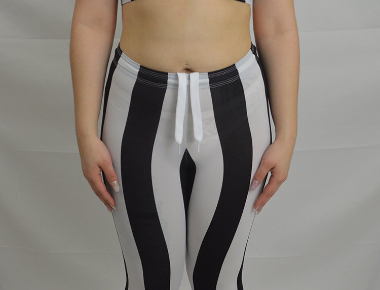 Wide Stripe Legging