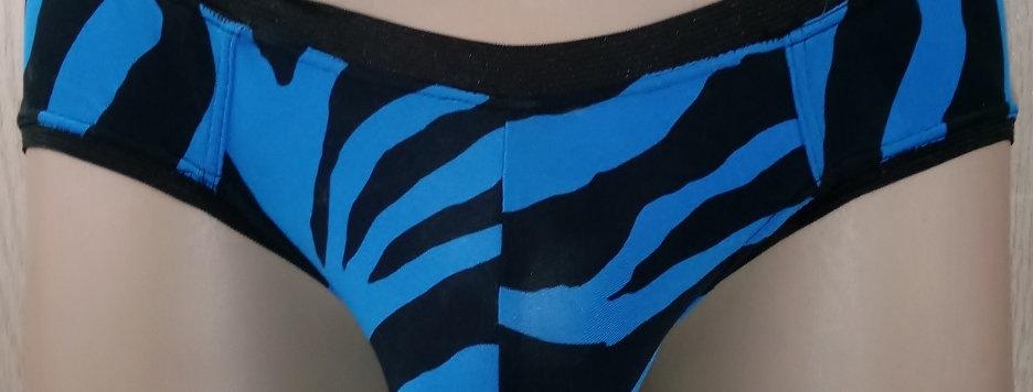 Blue Zebra Print Jokini