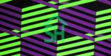 Purple Geo Jock Strap