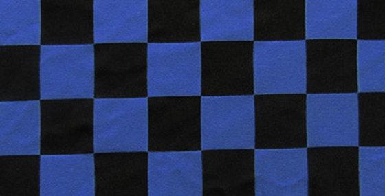 Blue Check Jock Strap