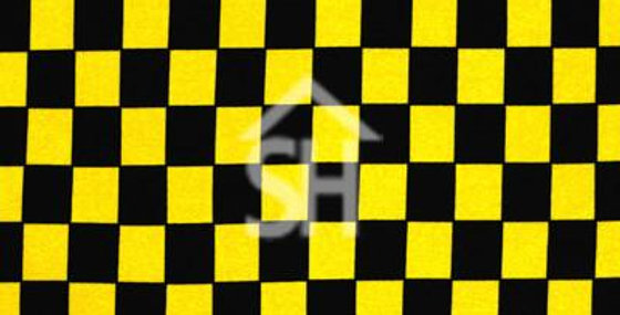 Yellow Check Jock Strap