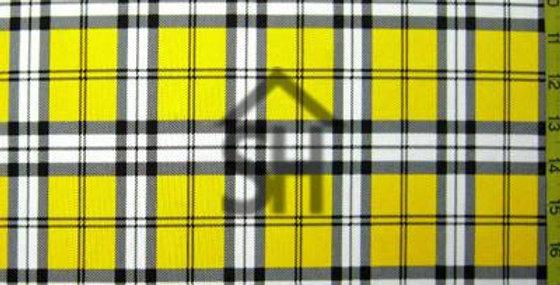 Yellow Plaid Jock Strap