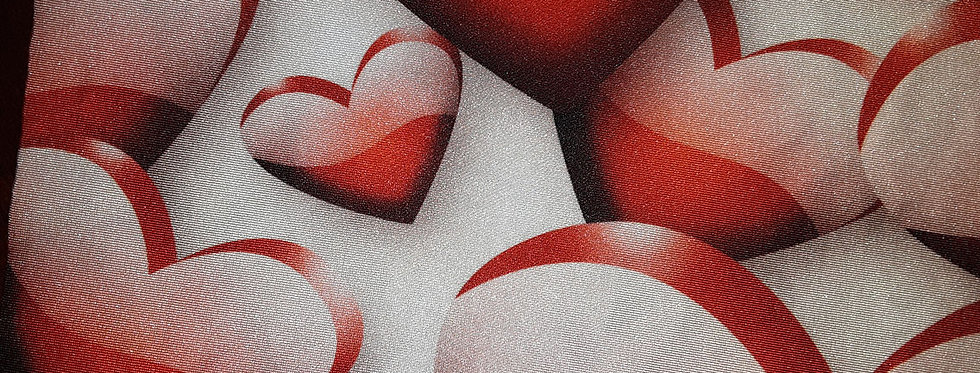 Heart Print Jock Strap