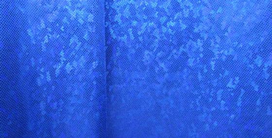 Blue Shattered Glass