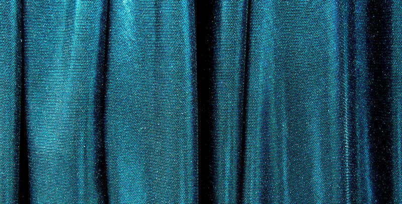 Turquoise Metallic Mesh