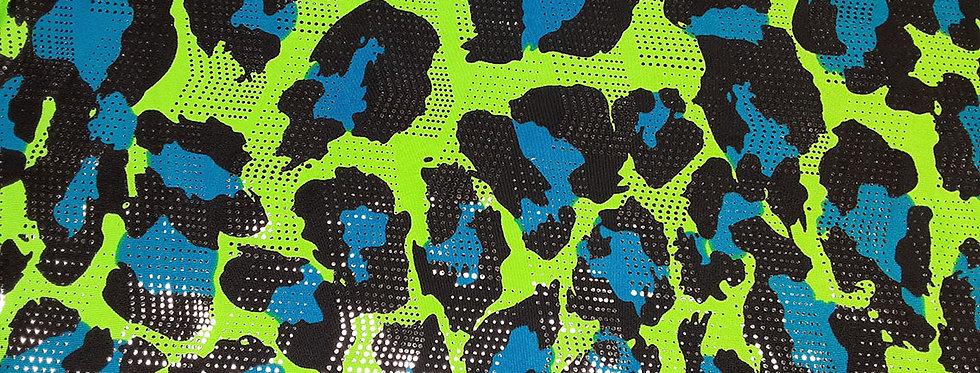 Neon Liquid Leopard