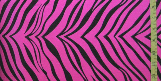 Pink Zebra Jock Strap