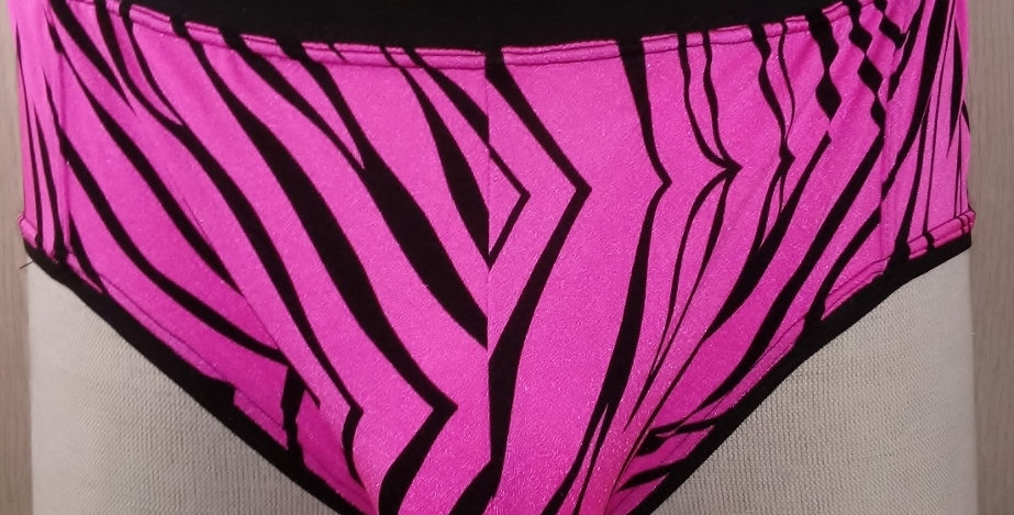 Pink Zebra Print Jokini