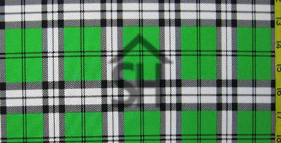 Green Plaid - Pocket Paneled Trunk