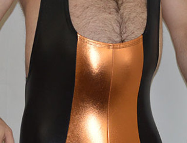 Metal Deep Neck Singlet