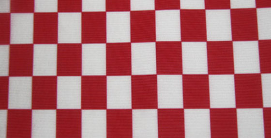 Red Check Mesh