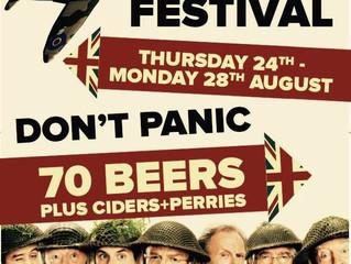 Leighton at War - Beer Festival