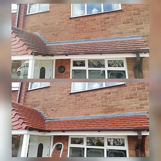 roof clean softwash