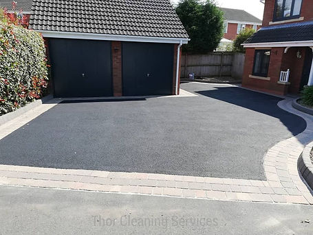Tarmac clean restoration after