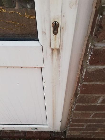 Door Before Cleaning