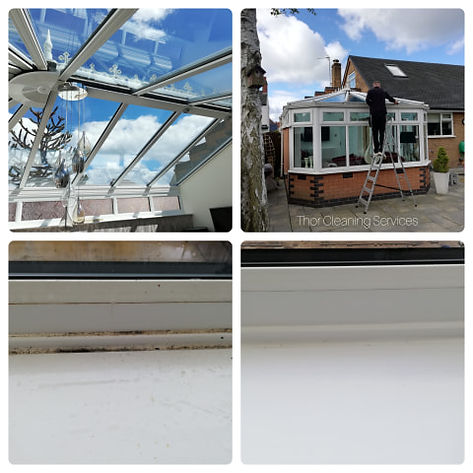 conservatory valet cleaning