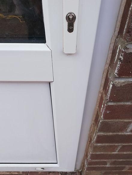 Door After Cleaning