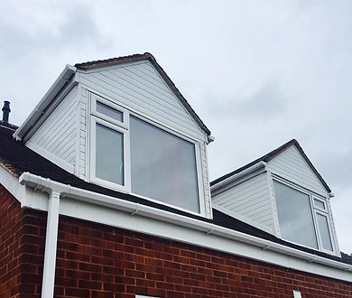 Clean upvc cladding guttering gutters after picture image deep clean Thor Cleaning Services