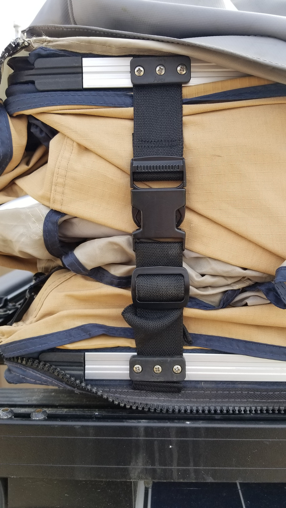 Upgraded 1.5 Hold Down Strap from Overland Expedition Specialists