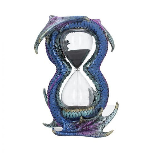 Blue and Purple Dragon Sand Timer