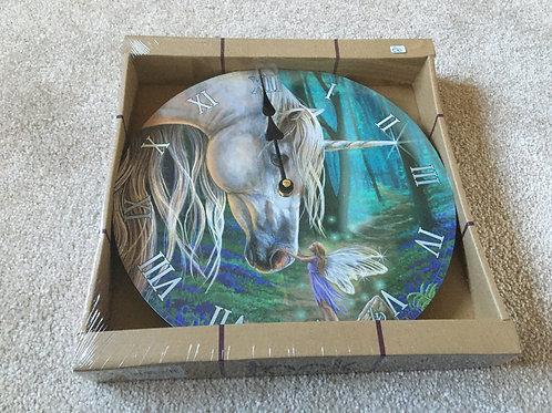 Unicorn and Fairy Clock
