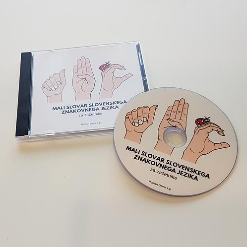 MALI SLOVAR SLOVENSKEGA ZNAKOVNEGA JEZIKA -DVD