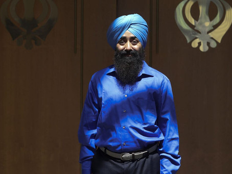 Today: Peace Parade & Flag changing for Birthday celebration of Guru Nanak Dev Ji, Day 3 (Sikh)