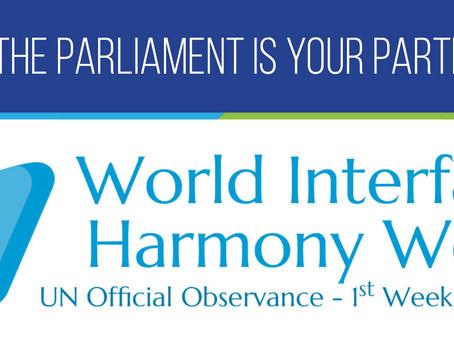 Today: World Interfaith Harmony Week
