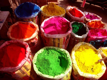 Today: Holi-Festival of Colors (Hindu)