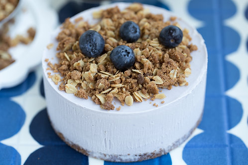 Blueberry Smoothie Oats Streusel