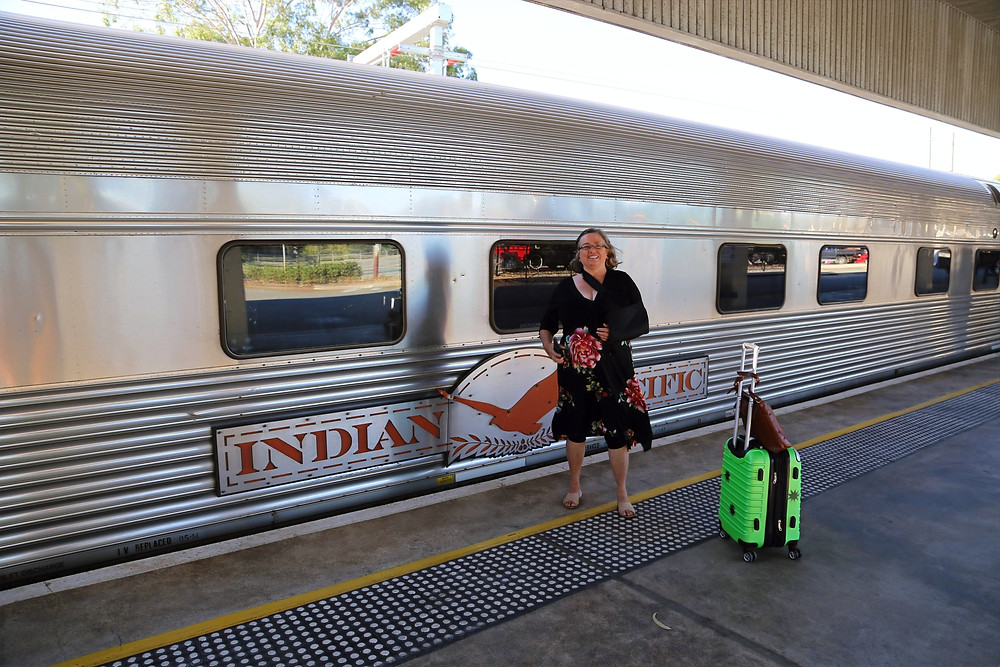 Passenger train carriage - Indian Pacific